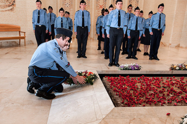 Laying of Wreath at the Tomb of the Unknown Soldier