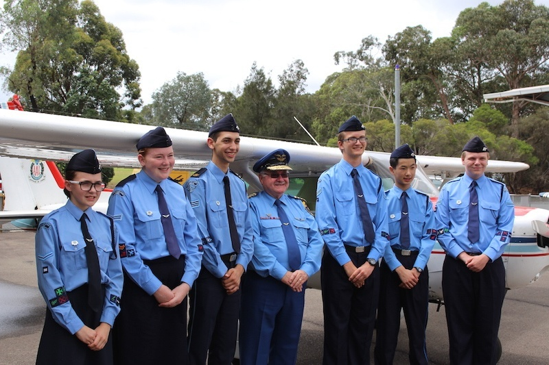 Australian Air League 2015 Cadet of the Year candidates