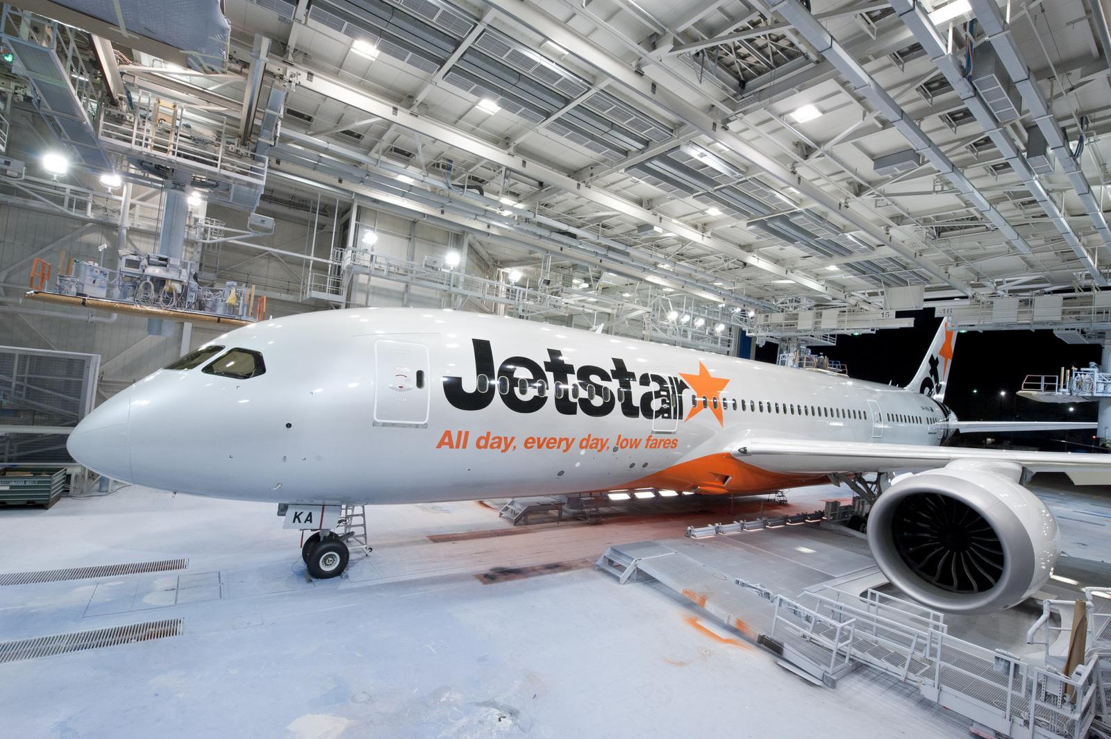 Exclusive Aerial Photo Of Jetstar Airway S First Boeing