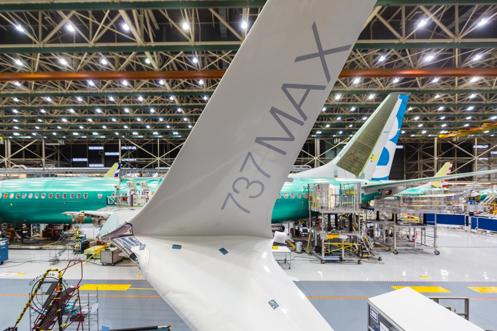 Resultado de imagen para Boeing 737 max assembly line
