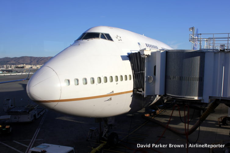 Get through security faster = you have more time to look at your airplane at the gate. United doesn't fly the 747 anyhow, but bet you wished you spent more time just staring at them!