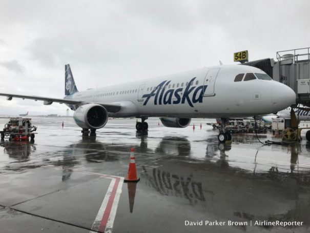 Hello beautiful! My Alaska Airlines VIP Airbus A321neo.