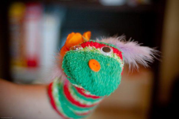 The site's mascot: SockM - Photo: Jodimichelle   FlickrCC
