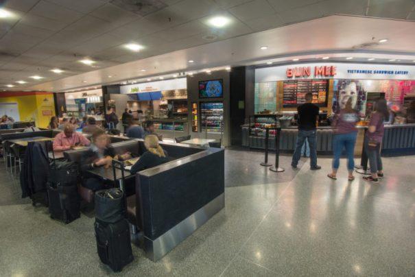 Terminal 3 food court - Photo: SFO