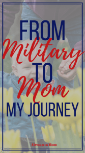Is motherhood like a combat zone. The hardest life experience I had before becoming a mom was deploying to Afghanistan. In those early years it felt similar.