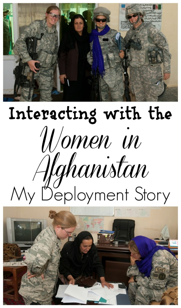 Meeting a few women in Afghanistan gave me a peek into the hardships they faced. This was my favorite mission while in Afghanistan.