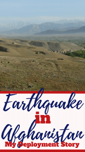 There was an earthquake in Afghanistan while I was deployed there in 2010. I sent a letter home about it to let my family and friends know. #military #deployment #afghanistan