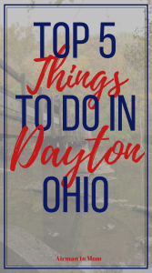 We learned there are lots of things in Dayton, Ohio for the four years we were stationed there. Part of military life is living in different parts of the world. My last assignments in the military took me to Dayton, Ohio. While in Dayton my husband and I went from a couple to a family when our oldest son was born at Wright-Patterson Air Force Base. #dayton #ohio #travel