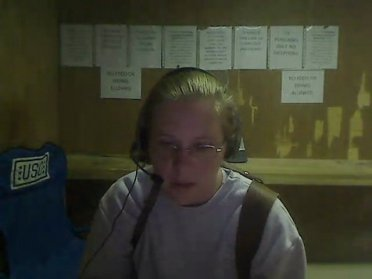 A picture my mom tok of me one one of the days we were skyping.