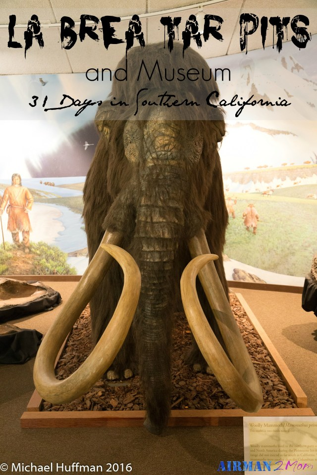 A fun place to explore in downtown LA. La Brea Tar Pits. Learn a little bit about history and archaeology.