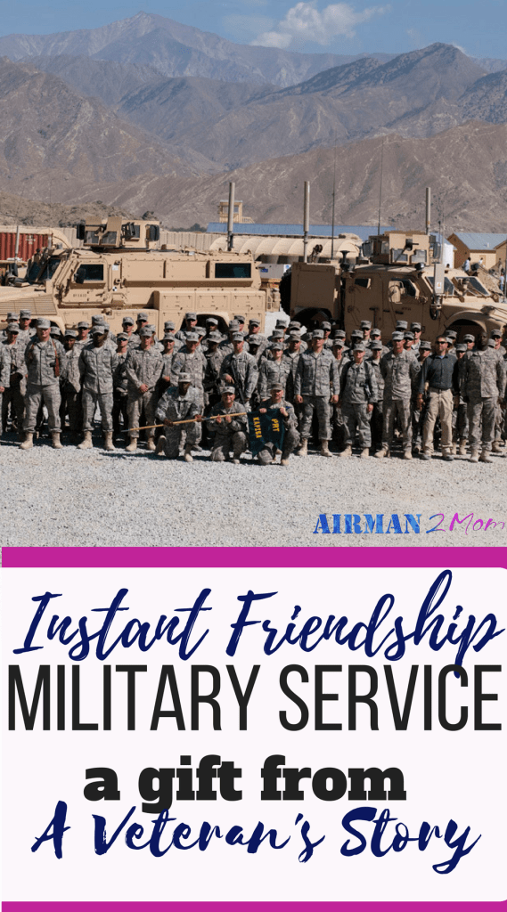 The military gives you the gift of instant friendship with other members serving in the military. And when you are in friends are somewhat easy to find. Then you leave the military and life changes. How do you find friends? #friends #military #friendship