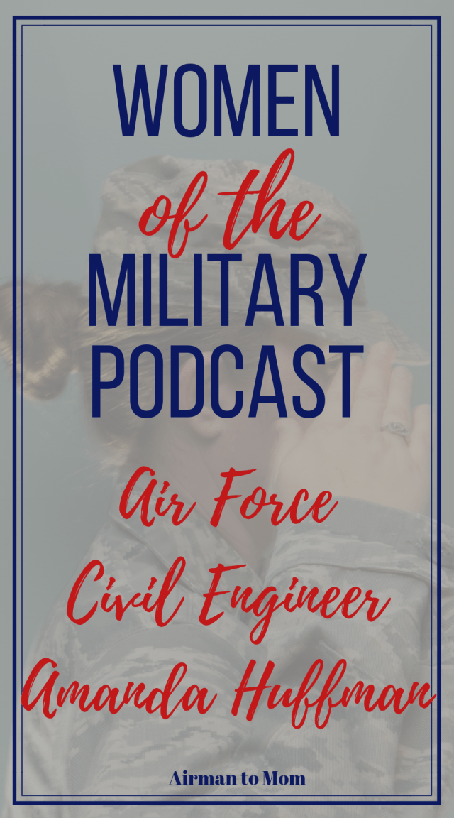 Do you want to know what it is like to be an Air Force Civil Engineer. Listen to Amanda's story of being a female Civil Engineer Officer in the Air Force. This is episode 2 of the Women of the Military Podcast. #womenofthemilitary #femaleveteran #civilengineer #military