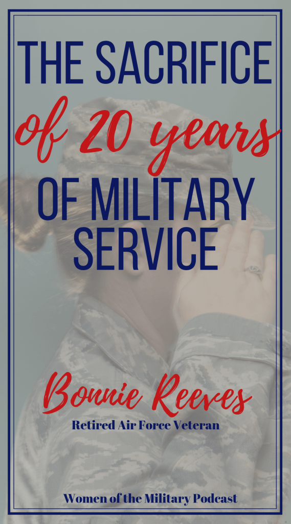 Bonnie Reeves served on active duty in the Air Force. She reached the rank of Master Sargent. She worked in Logistics Supply, working on various jobs in supply support ranging from aircraft to vehicles to communications. She met her husband while serving on active duty and they have now both retired from the military. #dualmilitary #military #militarywomen