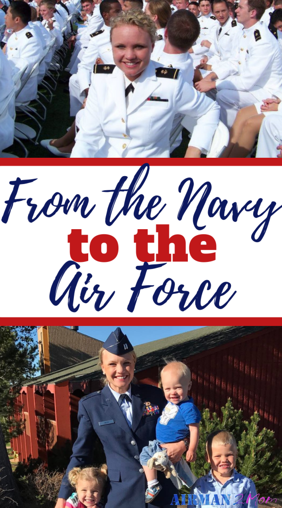 Katrina attended the Naval Academy, but commissioned into the Air Force, But that isn't the only unique thing about her military story. Check out her military career as part of Women of the Military Podcast. #podcast #militarywomen #navy #airforce