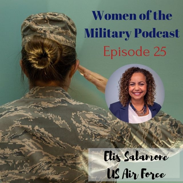Elis Salamone Women's Health Practitioner in the military