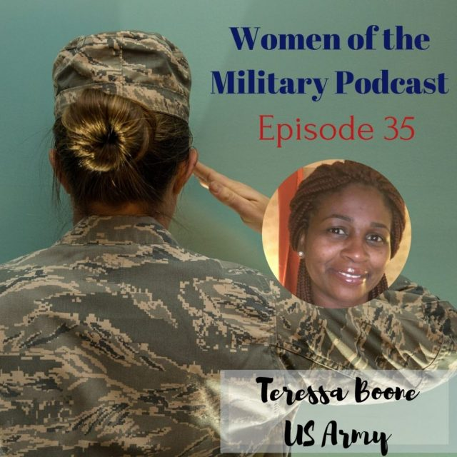 A single mother in the military