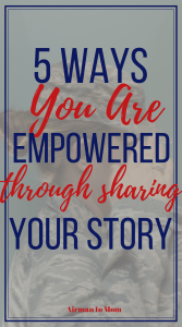 Celebrating Mental Health Awareness Month by focusing on the power of sharing your story. Your story matters and you can empower yourself and others through sharing your story! #yourstorymatters #yourstory #mentalhealth #mentalhealthawareness #military #militarystory #veteran