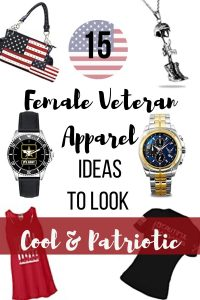 To help you up your game, these 15 female veteran apparel ideas will upgrade your wardrobe to make you feel more proud and more patriotic. These ideas below can also be the perfect military gift for your beloved veteran lady.
