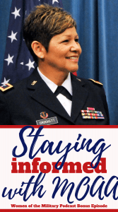 Staying informed with MOAA through their informational newsletter and magazine is so important for veterans, service members, and their families
