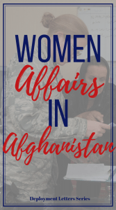 Meeting a few women in Afghanistan gave me a peek into the hardships they faced. This was my favorite mission while in Afghanistan. #deployment #military
