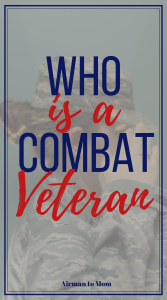 What makes someone a combat veteran? And how do those words make you feel when you attach them to your name? #deployment #military #reflection #combat