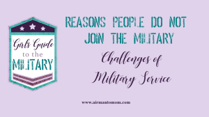 9 Reasons Not to Join the Military