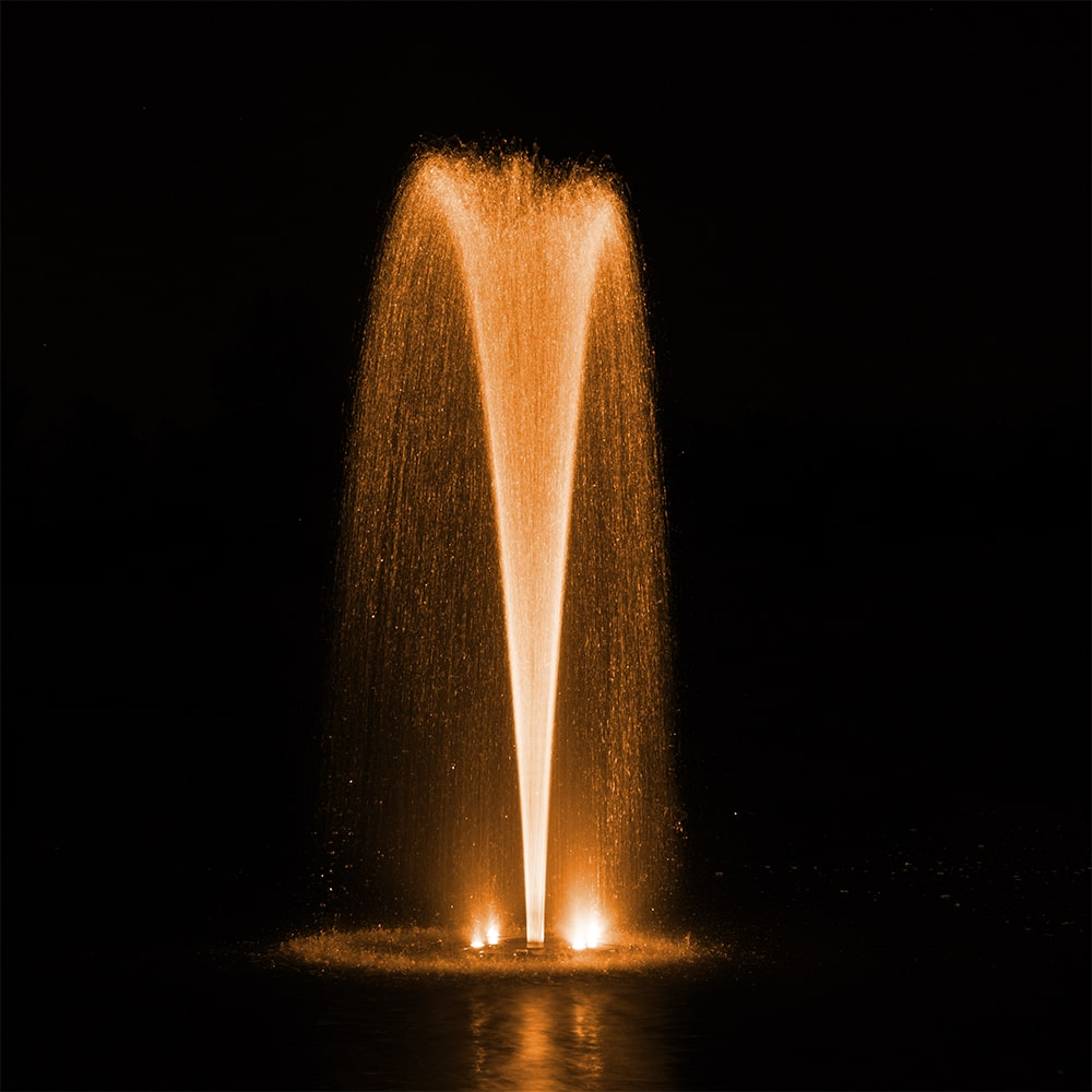 fountain lighting color changing led