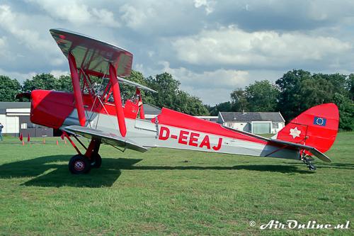 D-EEAJ De Havilland DH82a Tiger Moth