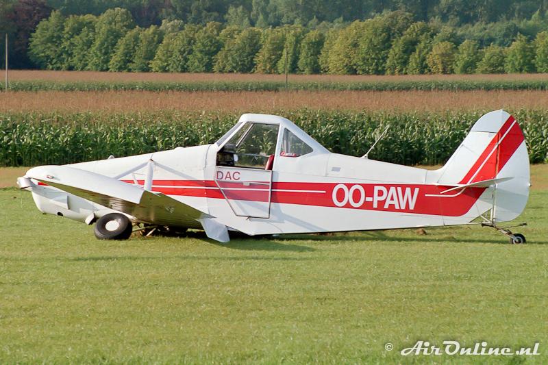 OO-PAW Piper PA25 Pawnee (Schaffen-Diest 1988)