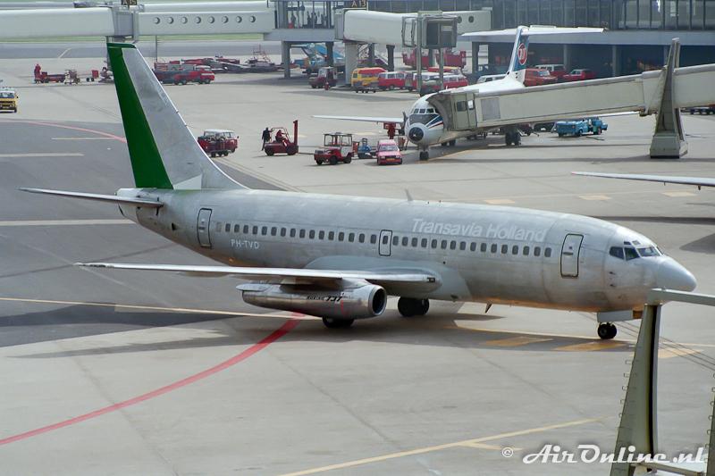 PH-TVD Boeing 737 Transavia (Schiphol 1985)