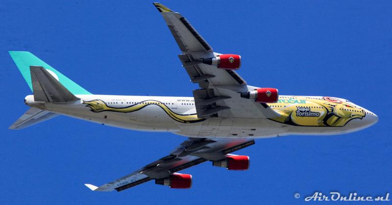 """CP-2603 Boeing 747-400 AeroSur """"Super Torismo"""""""
