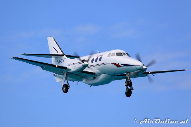9Y-JET British Aerospace Jetstream 31, Sint Maarten Januari 2011