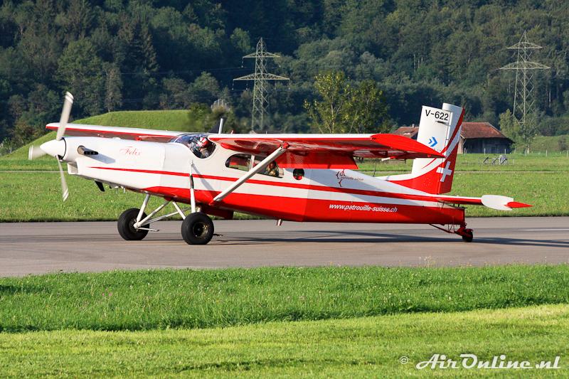 V-622 Pilatus PC-6-B2-H2M-1 Turbo Porter, Swiss Air Force