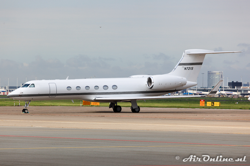 N721S Gulfstream G-V Starbucks Capital Asset Leasing Co. LLC