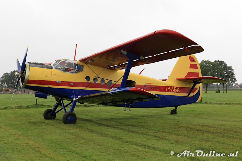LY-ABK Antonov AN-2