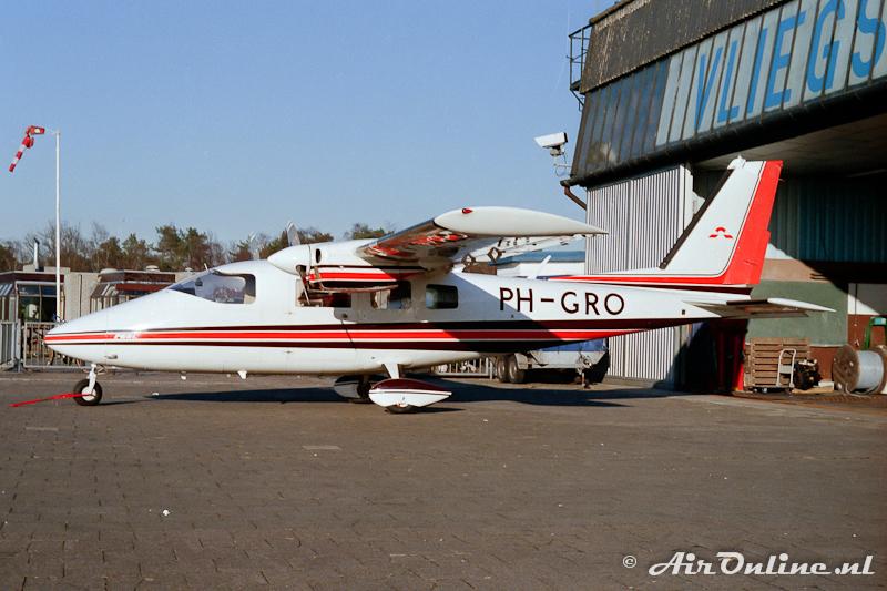 PH-GRO Partenavia P68C Victor Hilversum 1987