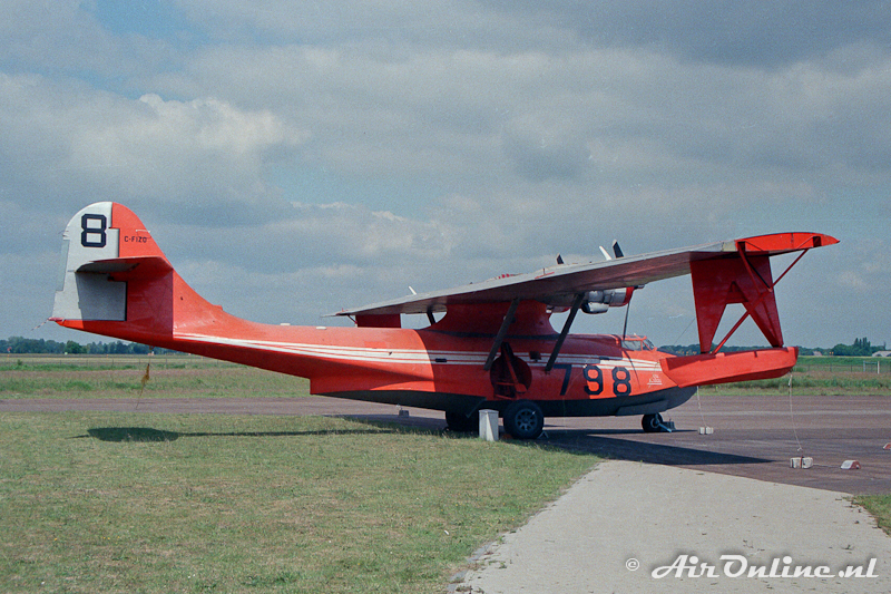 C-FIZO Consolidated PBY-6A Catalina Eindhoven 1990