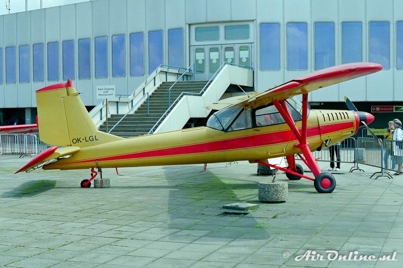 OK-LGL Aero L-60A Brigadyr (Dusseldorf 1985)