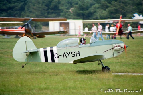 G-AYSH Taylor JT-1 Monoplane (Keiheuvel 1993)