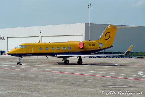 VR-BSS Gulfstream IV (Schiphol, 1996)