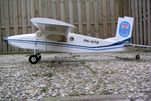 RC Model PH-OTB Pilatus PC-6 Porter
