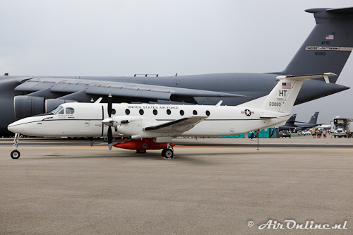 86-0080 Beech C-21J Huron (Beech 1900C-1)