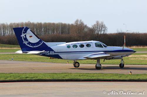 D-ISAV Cessna 402B Businessliner / Aerodata Surveys