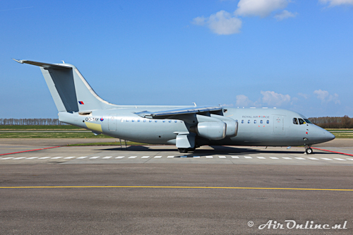 OO-TAY BAe 146-200QC Royal Air Force