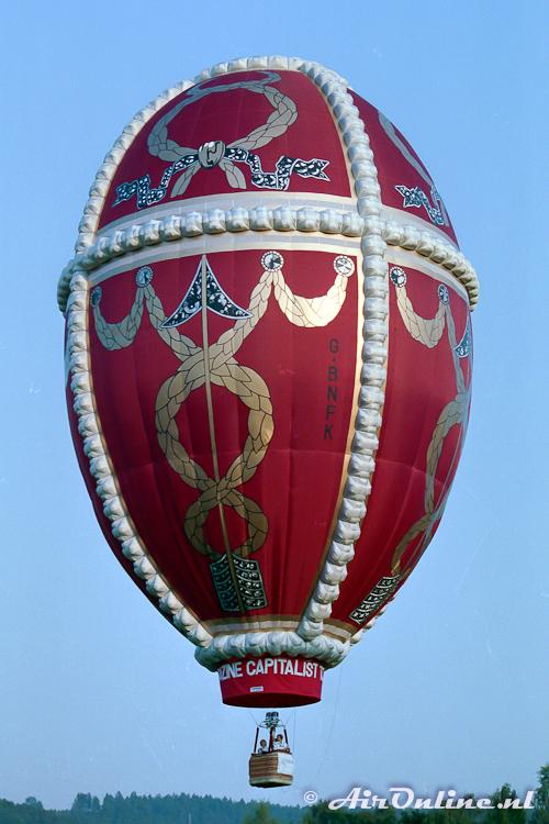 G-BNFK Cameron 89 Egg (Mersch, Lux 1988)