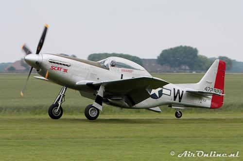 PH-VDF North American P-51D Mustang (Oostwold 13 juni 2011)