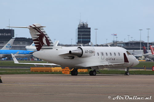 A7-CEA Canadair CL-605 Challenger (Qatar Executive)