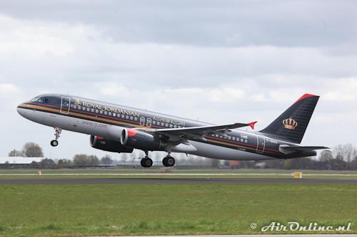 F-OHGX Airbus A320-232 (Royal Jordanian)