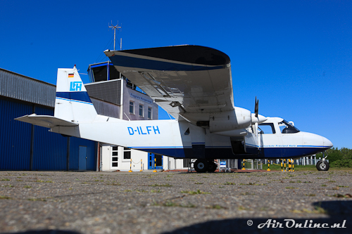 D-ILFH Britten-Norman BN-2B-26 Islander (een van de vele Islanders)