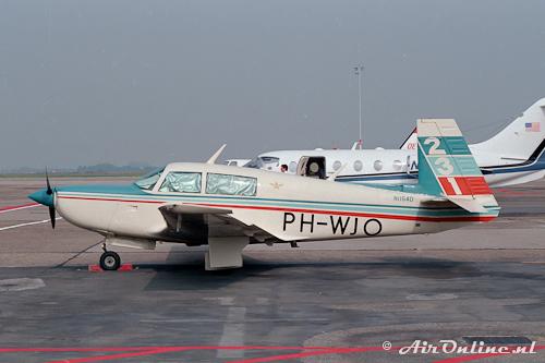 PH-WJO Mooney M.20K (Schiphol, 1988)